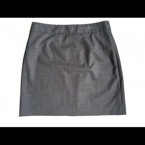 🦋 Theory Wool Blend Mini Skirt